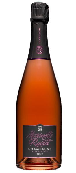 Champagne Marinette raclot - brut - Rosé