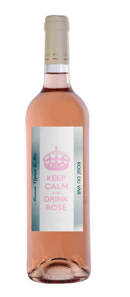 Maison Vignes & Mer - keep calm and drink - Rosé - 2018