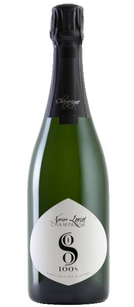 Champagne Xavier Loriot  - 100 s sans sulfites ajoutés - Pétillant