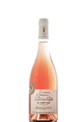 Domaine de Villeneuve - happy culteur aop pic saint loup - Rosé - 2020