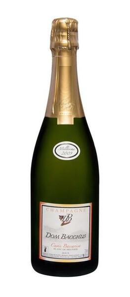Champagne Dom Bacchus - cuvée bassarica - doux - Pétillant - 2012