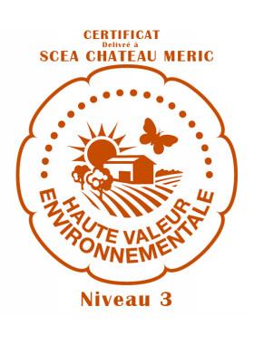 Château Meric - plantier - Rouge - 2012