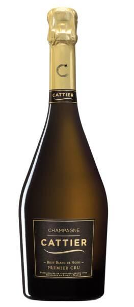 Champagne CATTIER - brut  de noirs 1er cru - Blanc