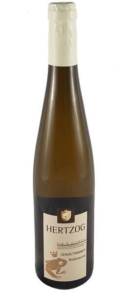 Domaine Vins d'Alsace Sylvain Hertzog - gewurztraminer bildstoecklé - Blanc - 2018