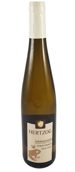 Domaine Vins d'Alsace Sylvain Hertzog - gewurztraminer sainte cécile - Blanc - 2017