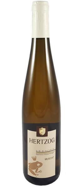 Domaine Vins d'Alsace Sylvain Hertzog - muscat - Blanc - 2018