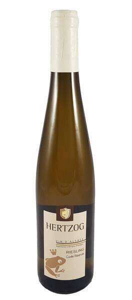 Domaine Vins d'Alsace Sylvain Hertzog - riesling cuvée réservée - Blanc - 2018