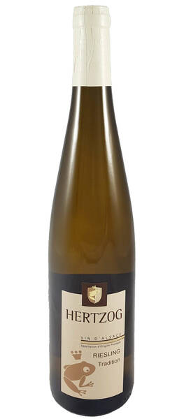 Domaine Vins d'Alsace Sylvain Hertzog - riesling tradition - Blanc - 2018