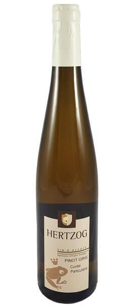 Domaine Vins d'Alsace Sylvain Hertzog - pinot gris cuvée particulière - Blanc - 2017