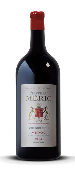 Château Meric - double magnum (3 litres) -   - cru bourgeois médoc - Rouge - 2013