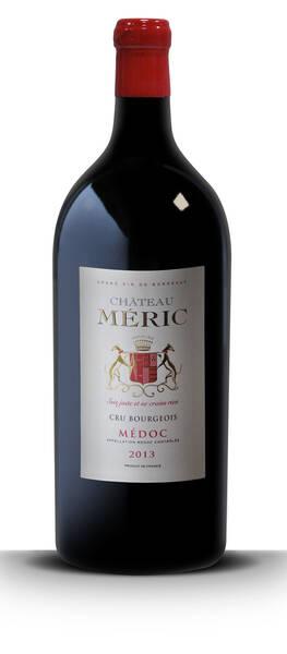 Château Meric - jéroboam (5 litres) -   - cru bourgeois médoc - Rouge - 2013