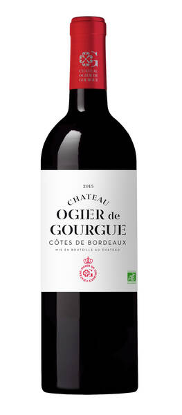 Château Ogier de Gourgue - millésime - Rouge - 2015