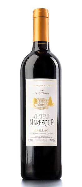 Château Maresque - cuvée thomas - Rouge - 2015