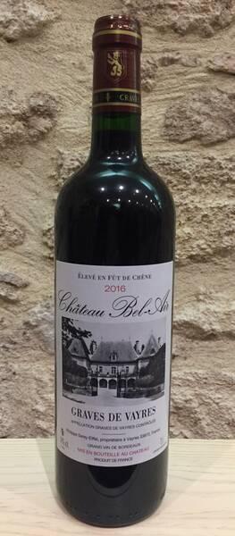 Château Bel-Air - fût de chêne - Rouge - 2016