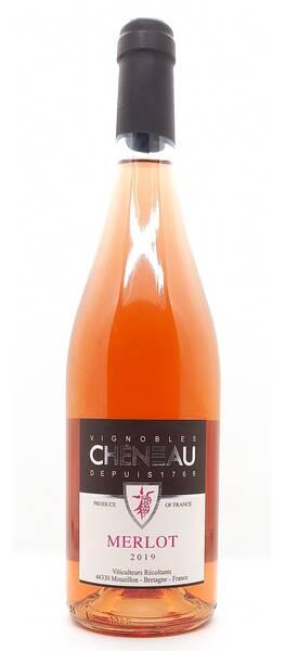 Vignobles Chéneau - merlot - Rosé - 2019