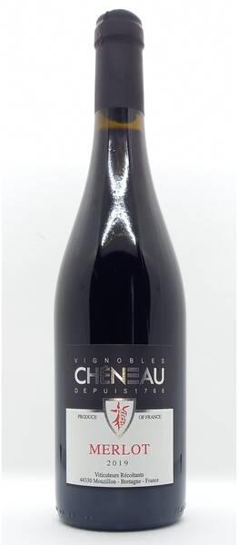 Vignobles Chéneau - merlot - Rouge - 2020