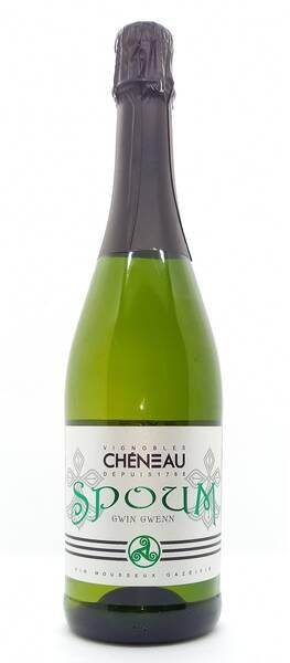 Vignobles Chéneau - spoum gwin gwenn - Pétillant