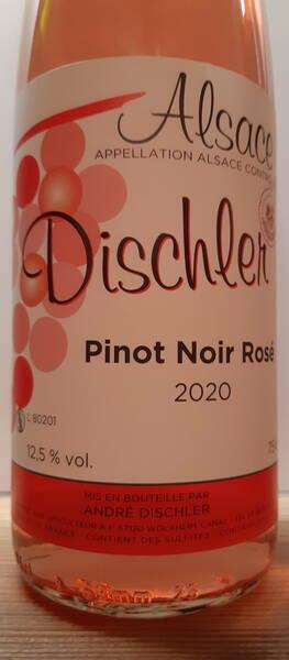 DOMAINE DISCHLER - pinot noir - Rosé - 2020