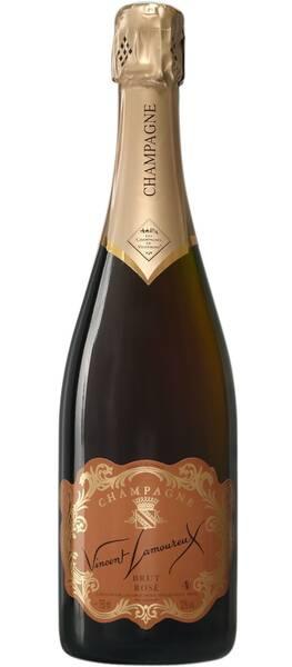CHAMPAGNE VINCENT LAMOUREUX - brut rosé de saignée - Pétillant