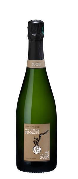 Champagne Anthony BETOUZET - brut nature - Pétillant - 2009