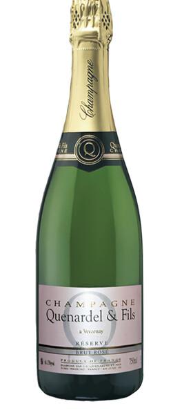 Champagne Quenardel et Fils - Réserve Brut Rosé Grand Cru