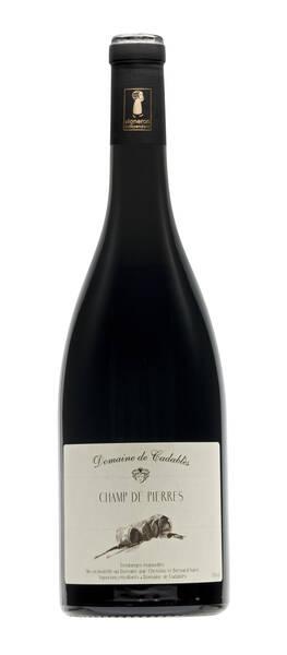 Domaine de  Cadablès - champ de pierres - Rouge - 2016