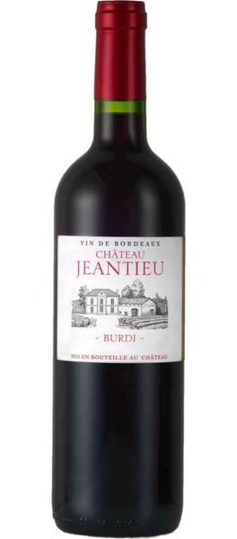 Château Jeantieu - burdi - Rouge - 2018