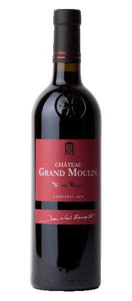 Château Grand Moulin  - terres rouges - Rouge - 2016