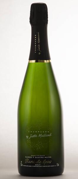 Champagne by Justin Maillard - de noirs - Blanc