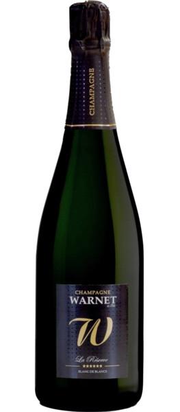 Champagne Warnet - la réserve - Pétillant