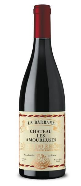 Château Les Amoureuses - la barbare - Rouge - 2017