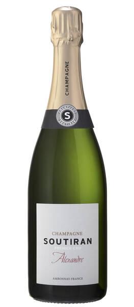 Champagne Soutiran - cuvée alexandre 1er cru brut - Pétillant