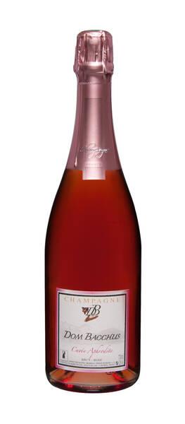 Champagne Dom Bacchus - cuvée aphrodite - rosé de saignée - Pétillant