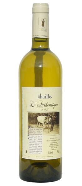 Domaine de la Haille - cuvée authentique - Blanc - 2016