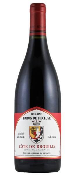 Domaine Baron de l'Ecluse - côte de brouilly - Rouge - 2018