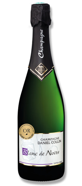 Champagne Daniel Collin - blanc de noirs, extra brut - Pétillant