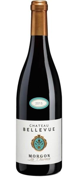 Château Bellevue Morgon - les charmes - Rouge - 2015