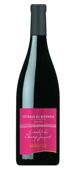 Vignobles Berthier - coteaux du giennois - l'inedit du champs jacquot - 100% pinot noir - Rouge - 2017