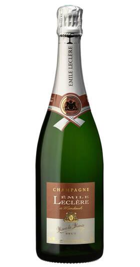 Champagne Emile Leclere - blanc de blancs brut - Pétillant