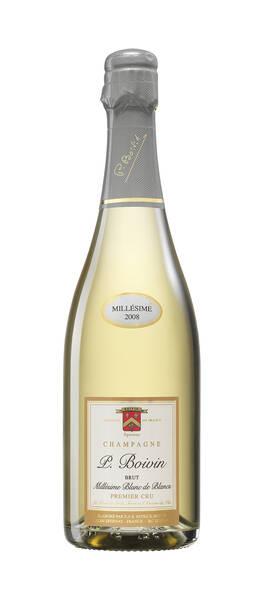 CHAMPAGNE PATRICK BOIVIN - cuvée blanc de blancs millesime - Pétillant - 2008