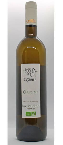 Domaine Coirier - origine - Blanc - 2020
