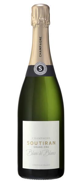 Champagne Soutiran - brut blanc de blancs grand cru - Pétillant