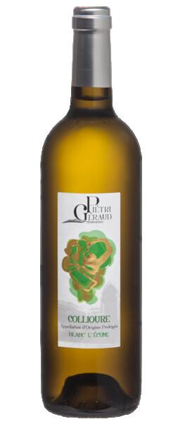 Domaine Pietri-Geraud - collioure  - l'écume - Blanc - 2020