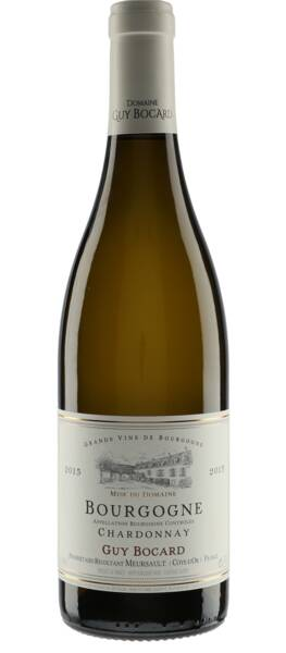 Domaine Guy Bocard - bourgogne chardonnay - Blanc - 2015