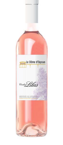 Le Dôme d'Elyssas - couleur lilas - Rosé - 2018