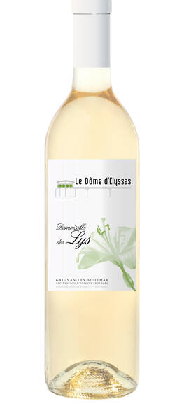 Le Dôme d'Elyssas - demoiselle des lys - Blanc - 2018