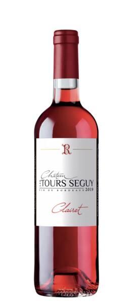 CHATEAU LES TOURS SEGUY - clairet - Rosé - 2020