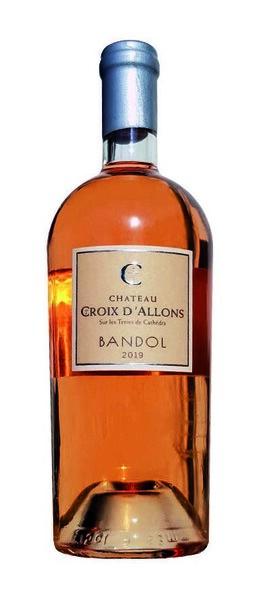 CHÂTEAU CROIX D'ALLONS - bandol bio - Rosé - 2020