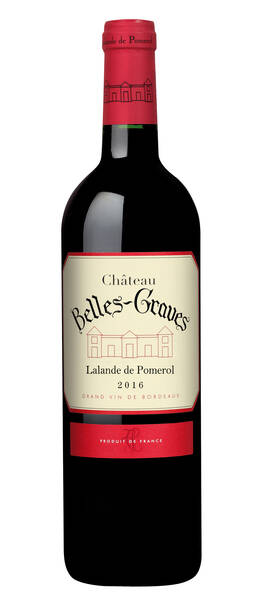 Château Belles-Graves - château belles-graves - château belles-graves 2018 - Rouge - 2018