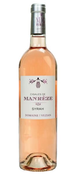 Domaine de Vézian - cigales de manrèze - Rosé - 2019